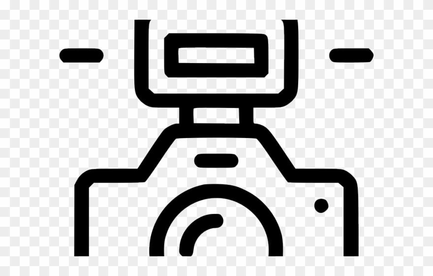 Photo Camera Clipart Flash Icon Png Transparent Png.