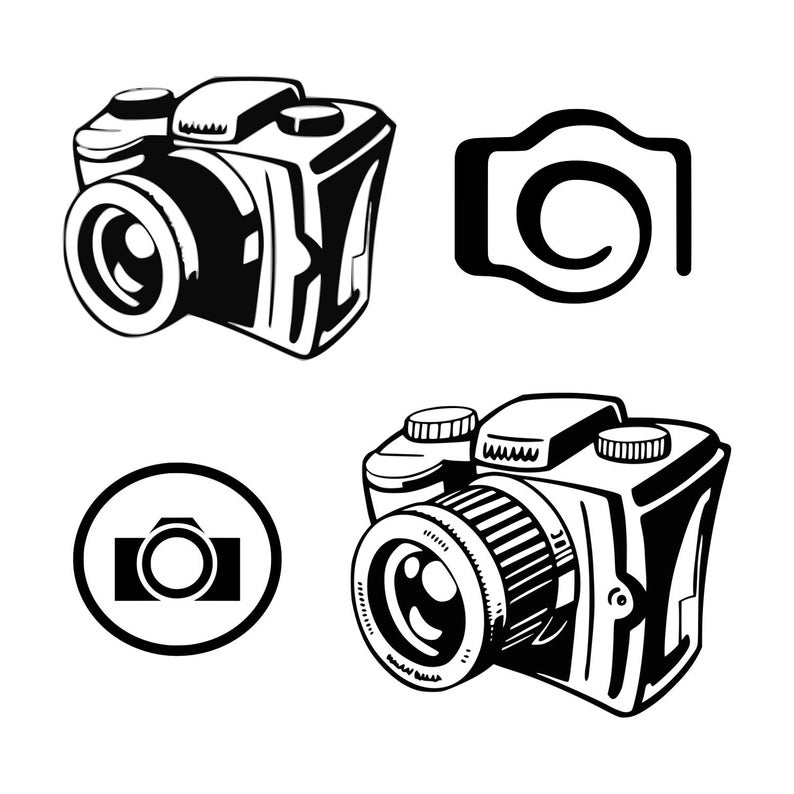 Camera svg Photography svg Photographer svg Camera flash svg Cut File  Silhouette SVG Cricut Cutting File Clipart Camera Clipart Graphic.