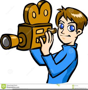 Free Cameraman Clipart.