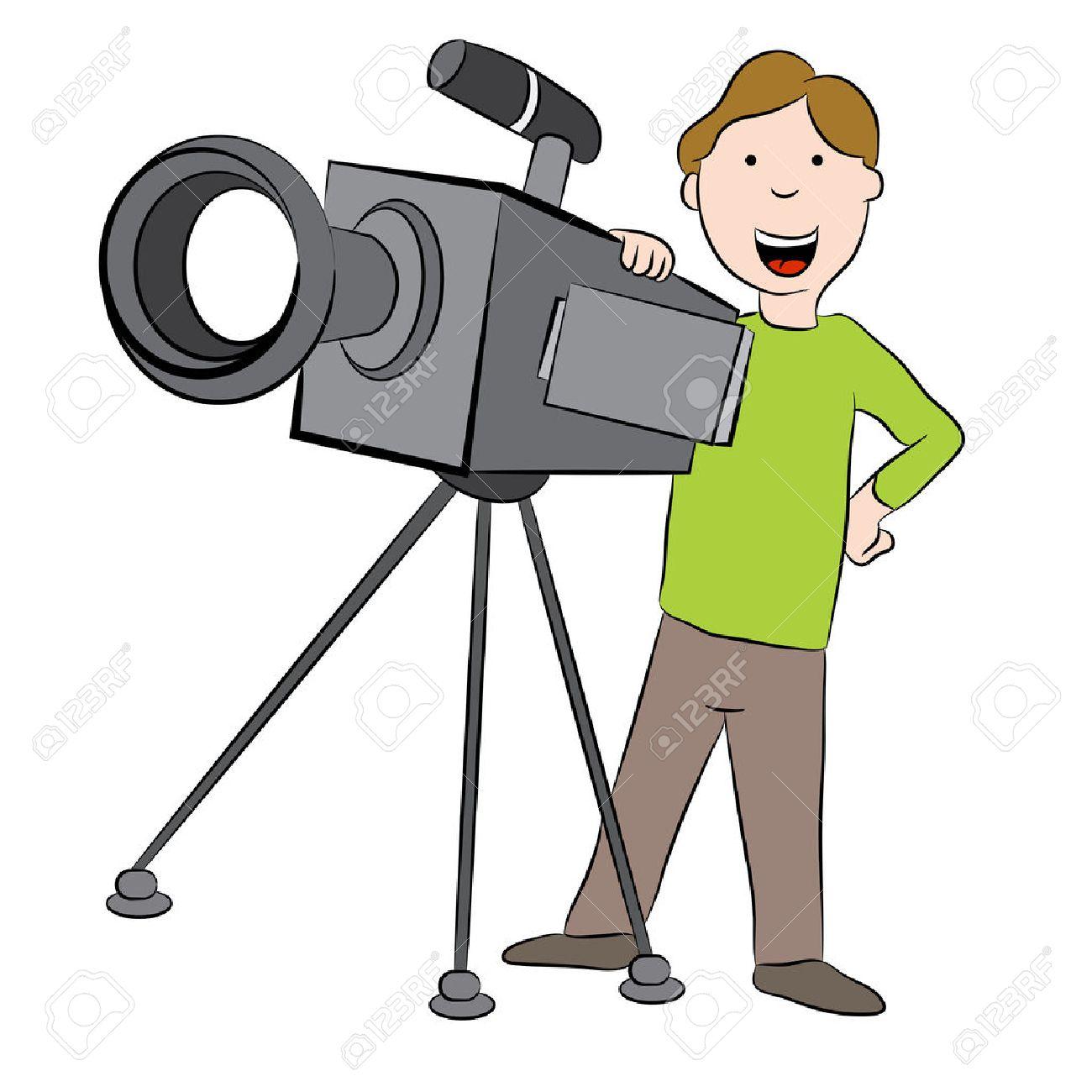 Cameraman clipart 3 » Clipart Station.