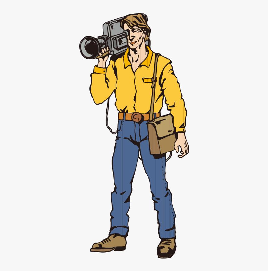Photography Clipart Cameraman.
