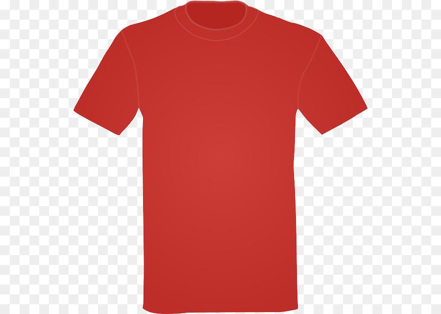 camisa vermelha clipart T.