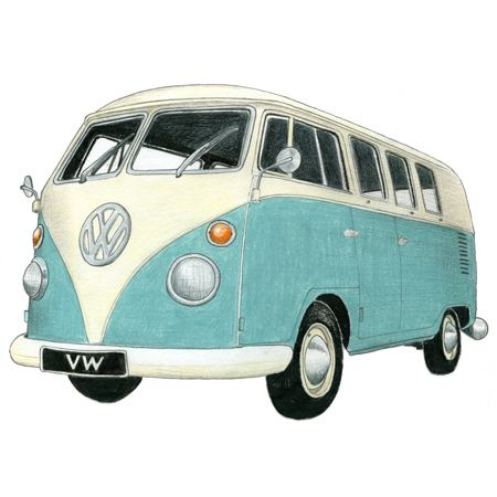 Campervan clipart 3 » Clipart Station.