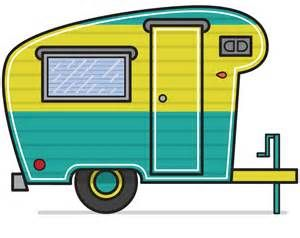 Camping Trailer Clip Art.