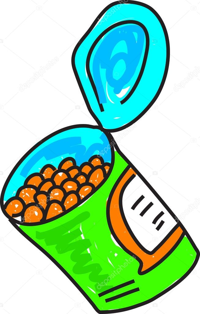 526 Beans free clipart.