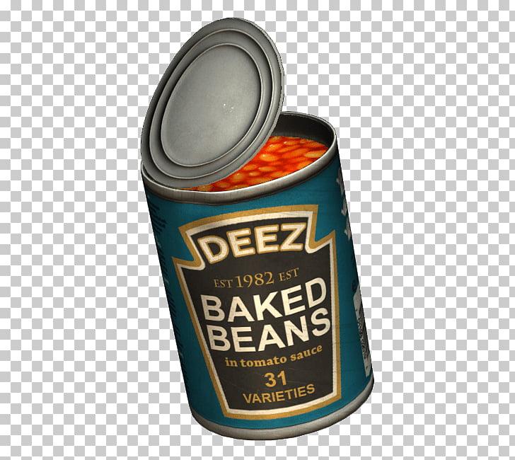 Baked beans DayZ Heinz Tin can, beans PNG clipart.