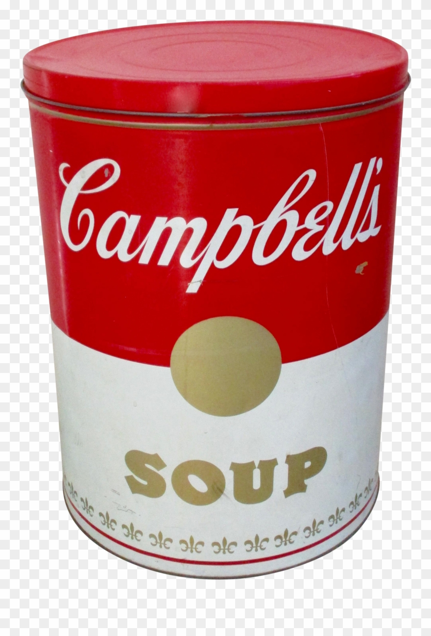 Soup Can Png Transparent Background.