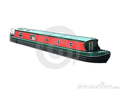 Narrow Boat Royalty Free Stock Images.