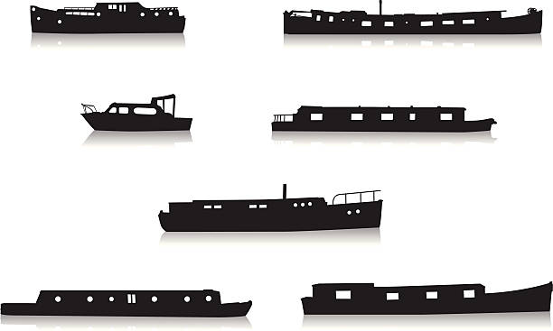 Barge Clip Art, Vector Images & Illustrations.
