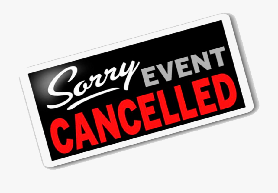 Event Cancelled , Transparent Cartoon, Free Cliparts.