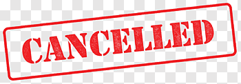 Cancelled cutout PNG & clipart images.