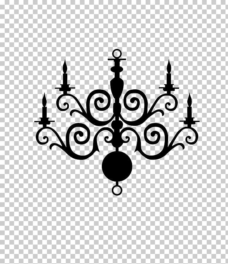 Candelabro de araña, araña minimalista. PNG Clipart.