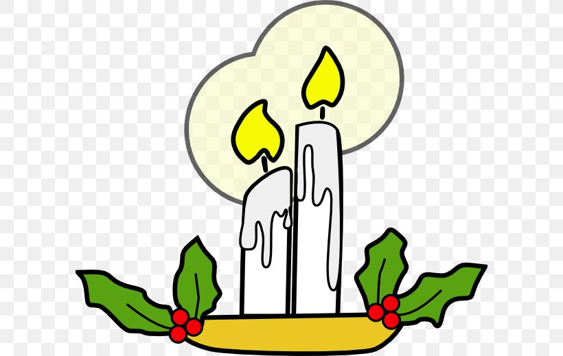 Light Candle Christmas Clip Art, PNG, 600x519px, Light.