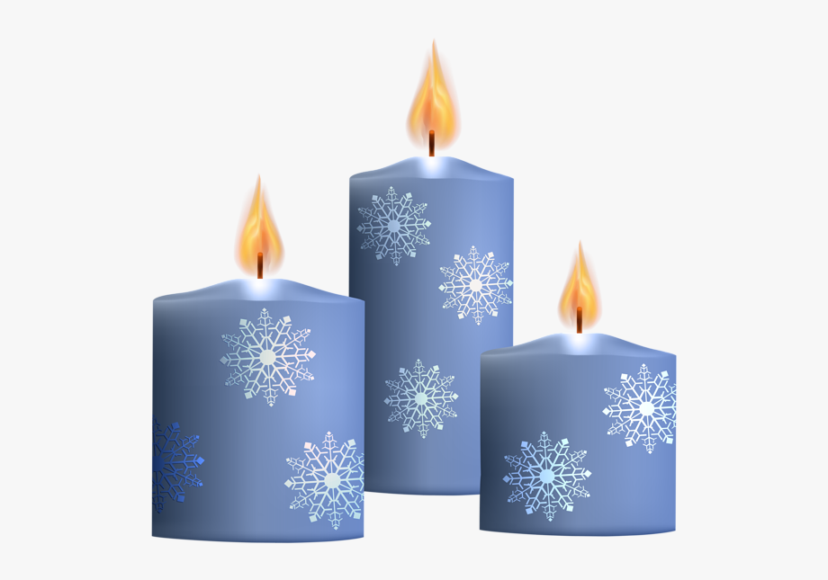 Candles Clipart Blue Candle.
