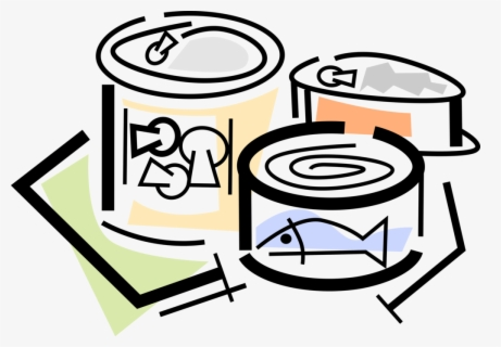 Free Canned Food Clip Art with No Background.