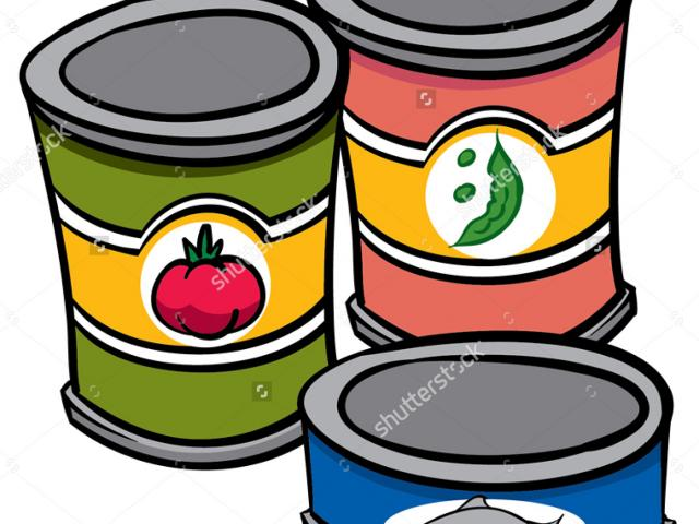Canned goods clipart 2 » Clipart Station.