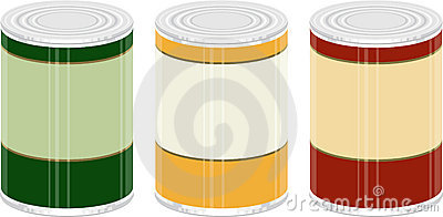 Canned Goods Stock Photos.