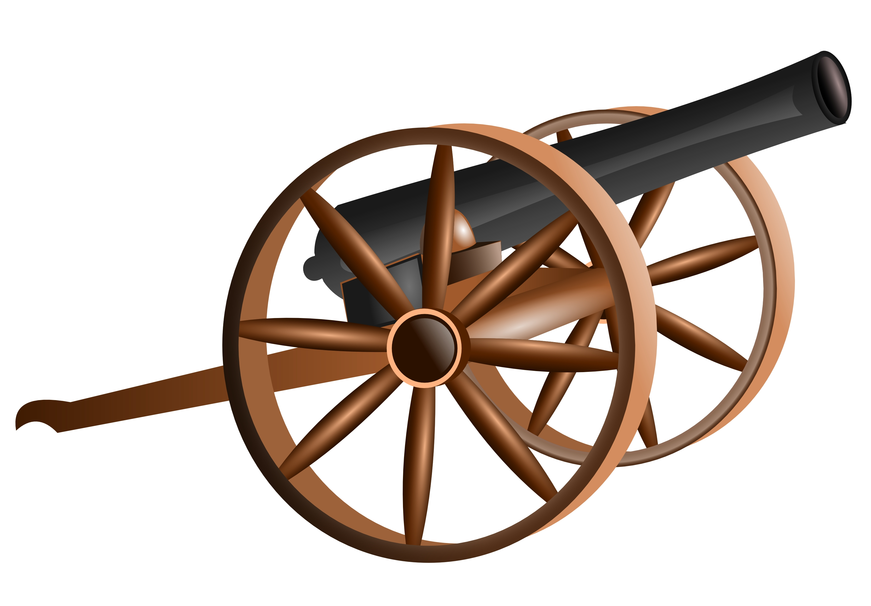 Cannon clipart old firing, Cannon old firing Transparent.