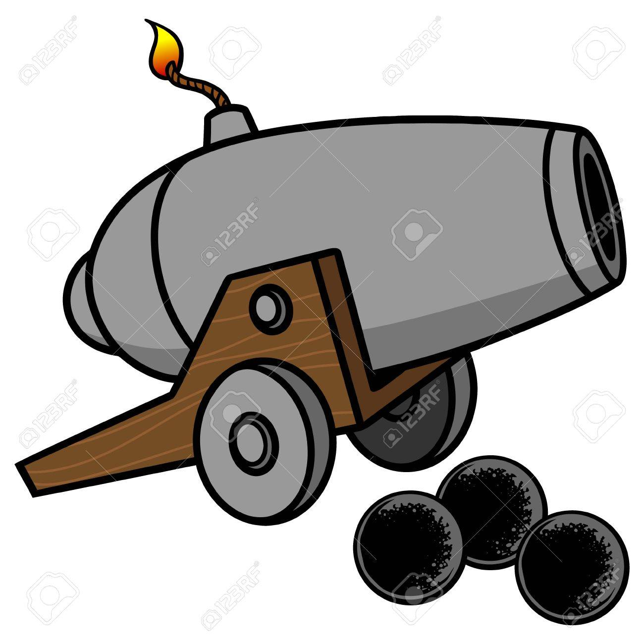 Clipart cannons 5 » Clipart Station.