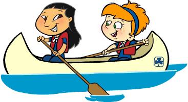 667 Canoe free clipart.