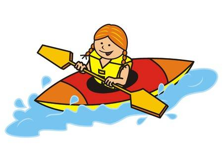 Clipart canoeing 1 » Clipart Station.