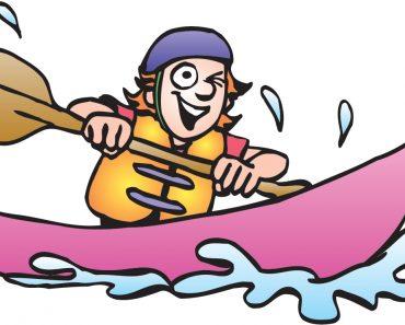 Canoe Kayak Clipart.