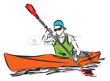 Canoe kayak clipart 8 » Clipart Station.