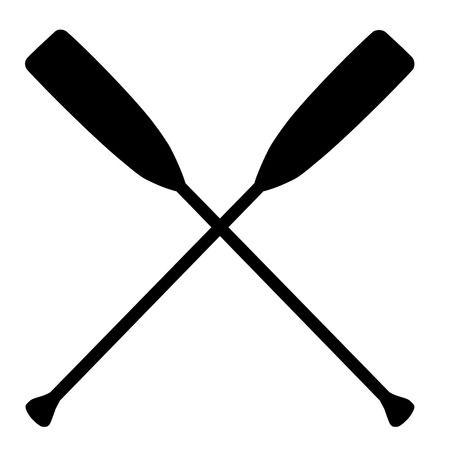 Canoe Paddle Clipart.