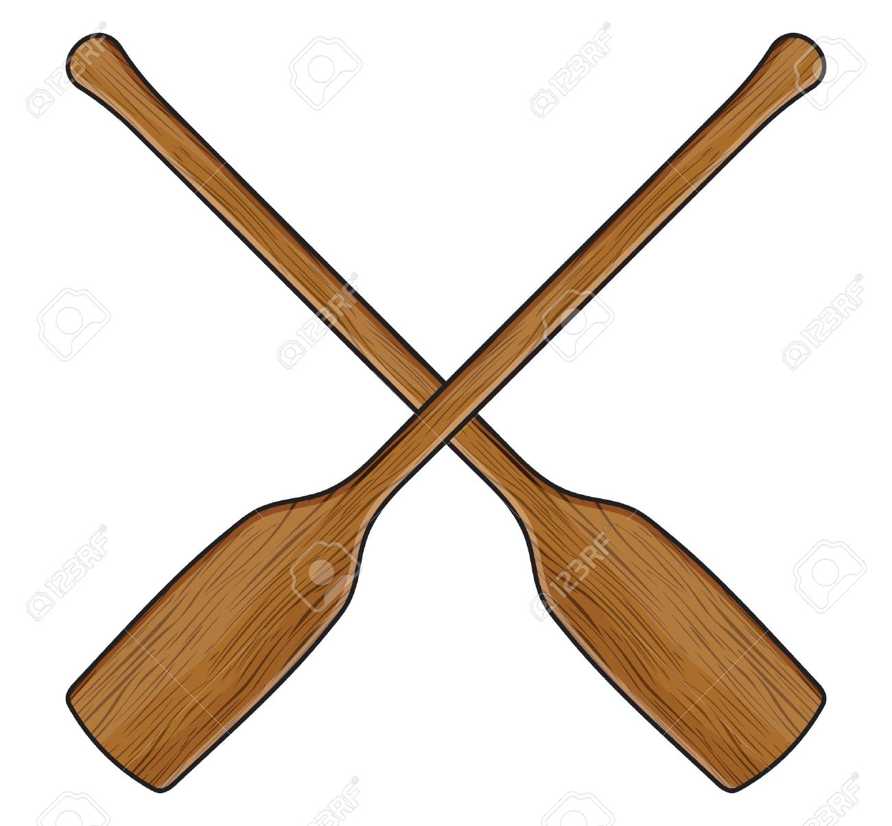 Canoe paddle clipart 4 » Clipart Station.
