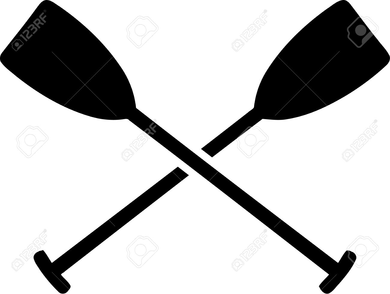 281 Paddle free clipart.