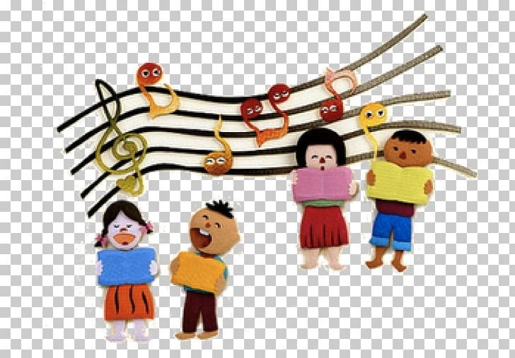 Coro cantando youtube, canta una canción PNG Clipart.