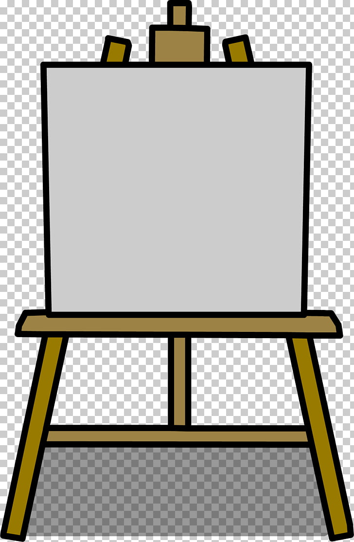 Easel Painting Art Drawing , canvas PNG clipart.