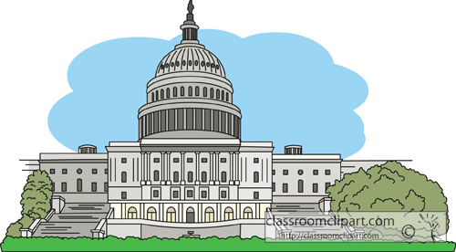 481 Capitol Building free clipart.