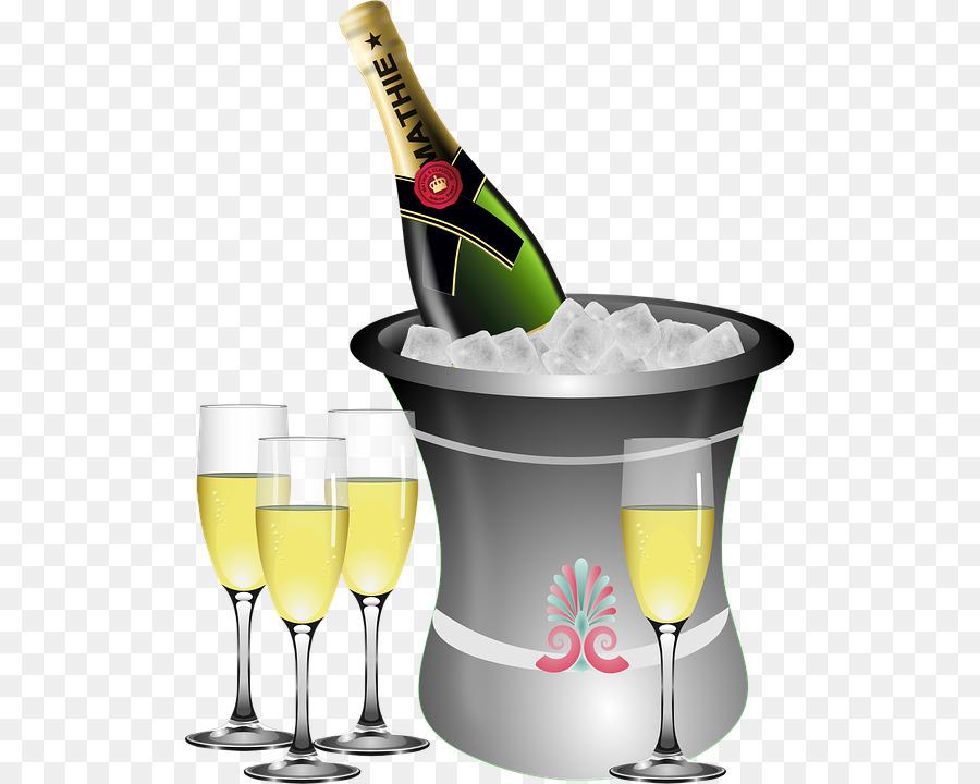 Champagne clipart capodanno capodanno.