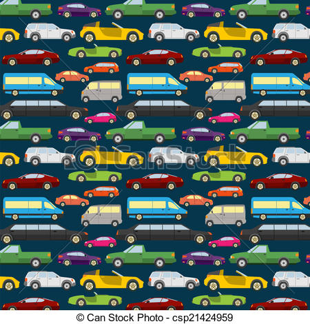 Cars Clipart Background.