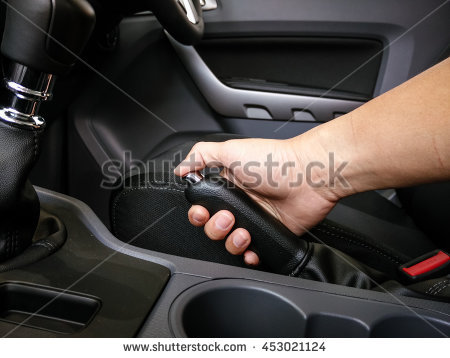 Handbrake Stock Images, Royalty.