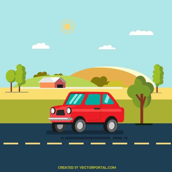 Car road clipart 1 » Clipart Station.