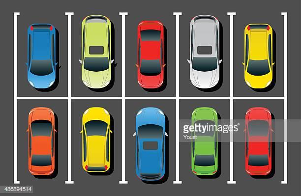 30 Top Parking Lot Stock Illustrations, Clip art, Cartoons, & Icons.