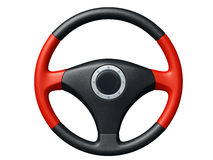 Isolated Car Steering Wheel Stock Photography.