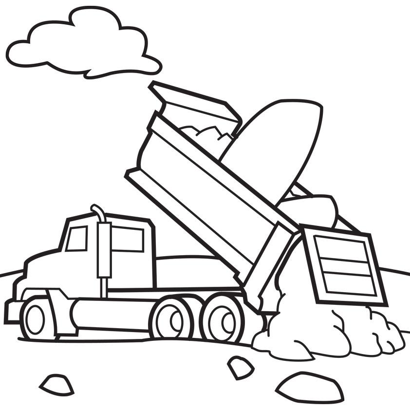 Cartoon Trucks Pictures.