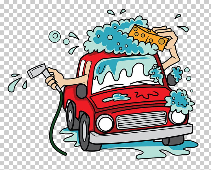 Car wash Cartoon , Automotive bath PNG clipart.