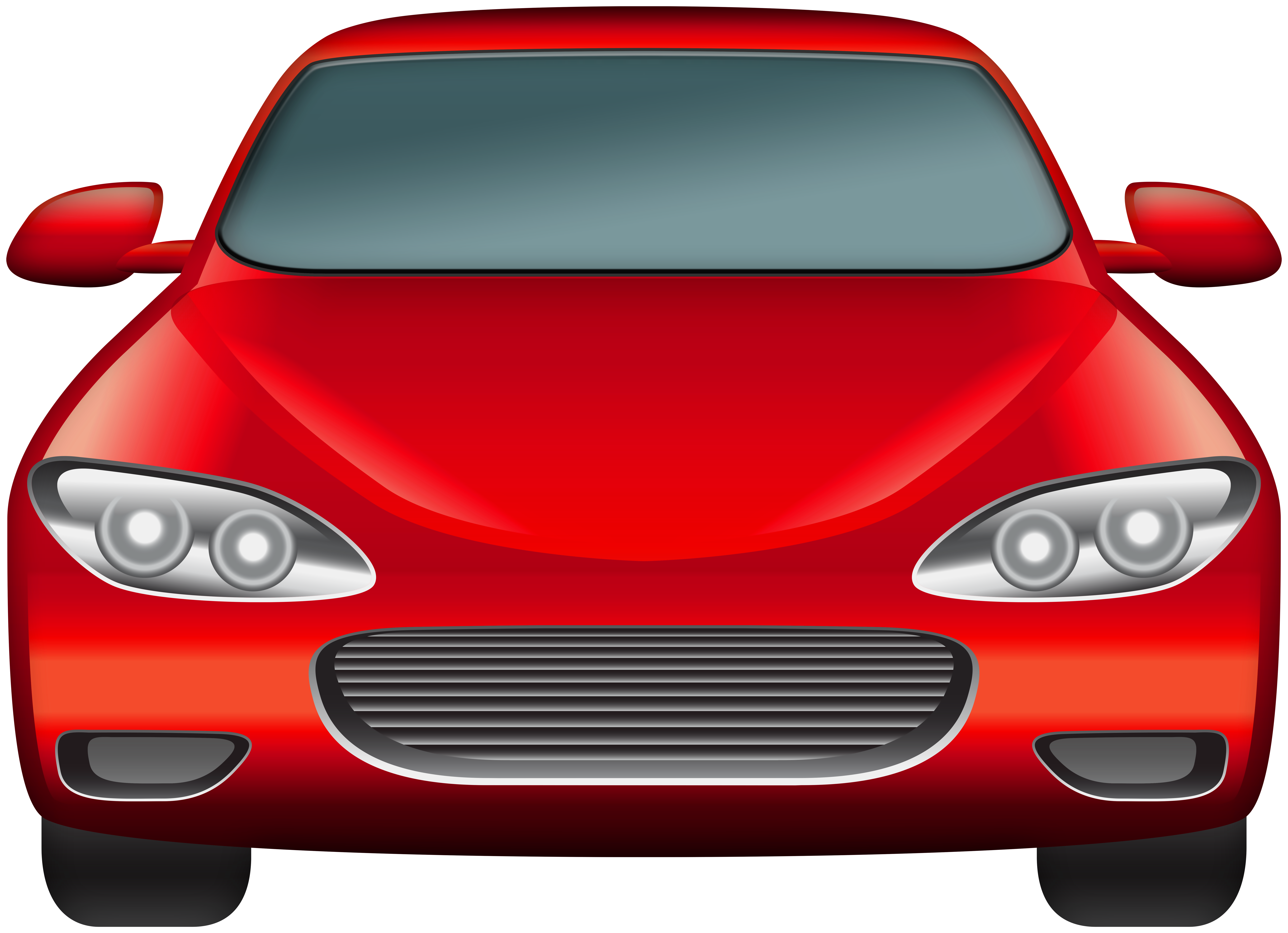 Red Car PNG Clip Art.