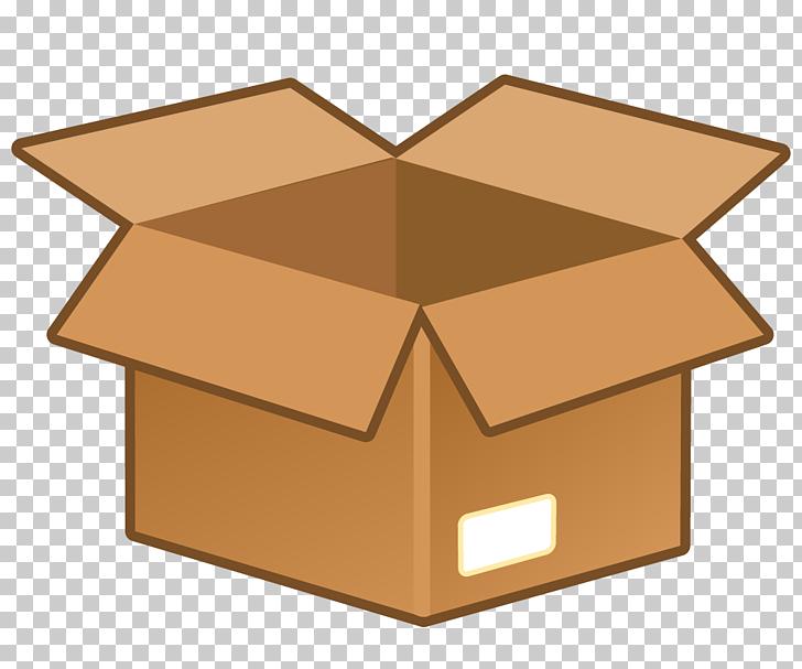 Cardboard box Icon, Cardboard box , brown box illustration.