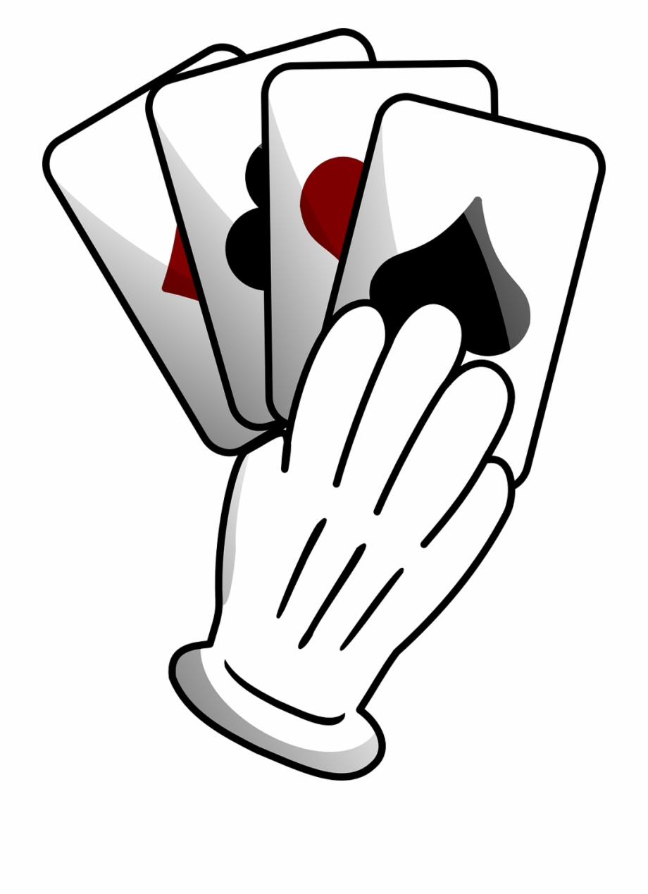 Playing Cards Suits Hand Diamond Png Image.