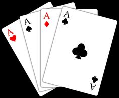 pictures of playing cards clipart.