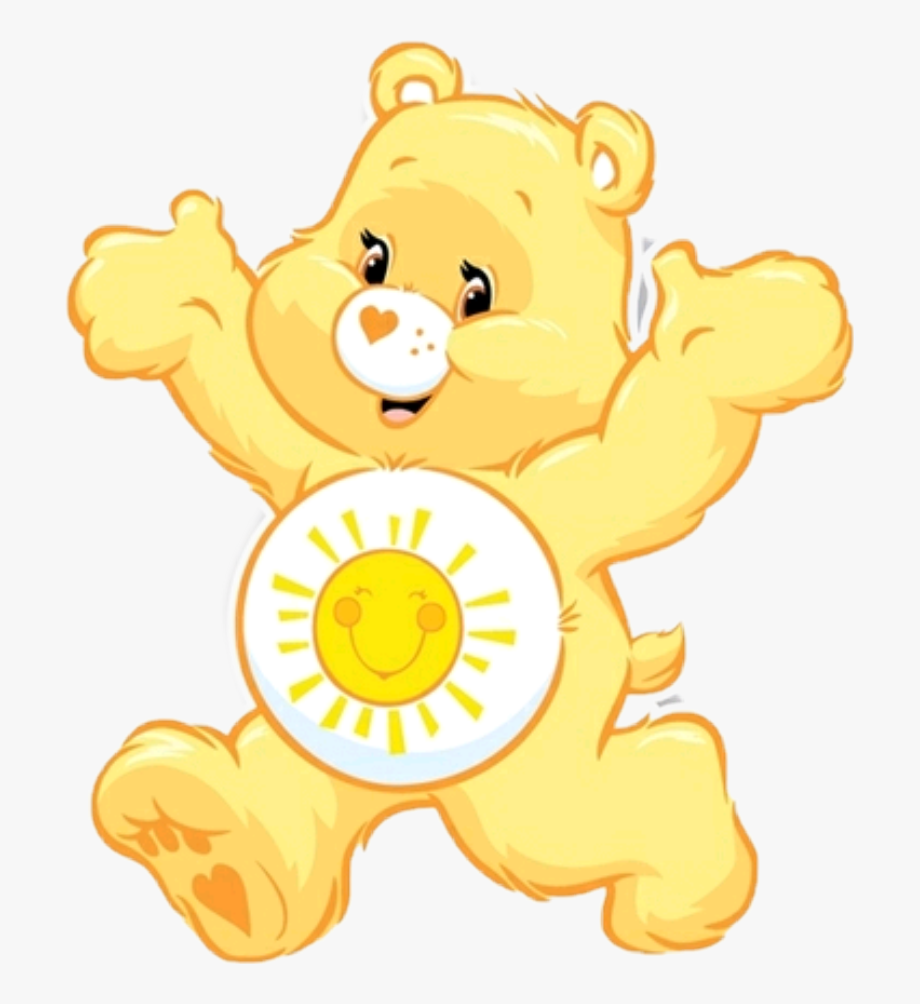 carebear #carebears #yellow #yellowaesthetic #kidcore.