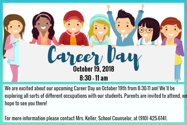 Career Day : J. W. Coon Elementary School.