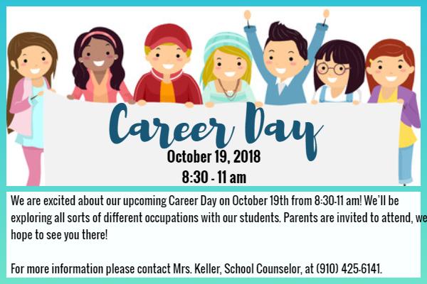 Career Day : J. W. Coon Elementary School.