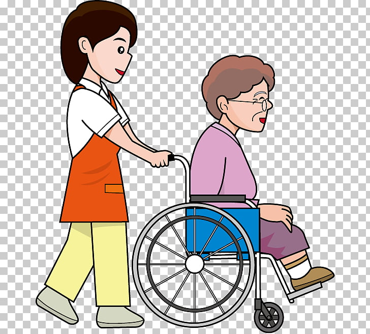 Wheelchair Caregiver 訪問介護員 , wheelchair PNG clipart.