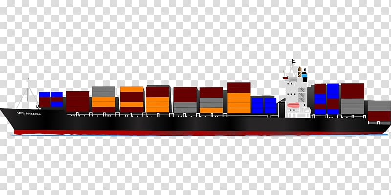 Container ship Cargo ship Intermodal container , Ship.